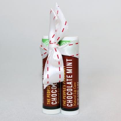 Chocolate Mint Lip Care Duo