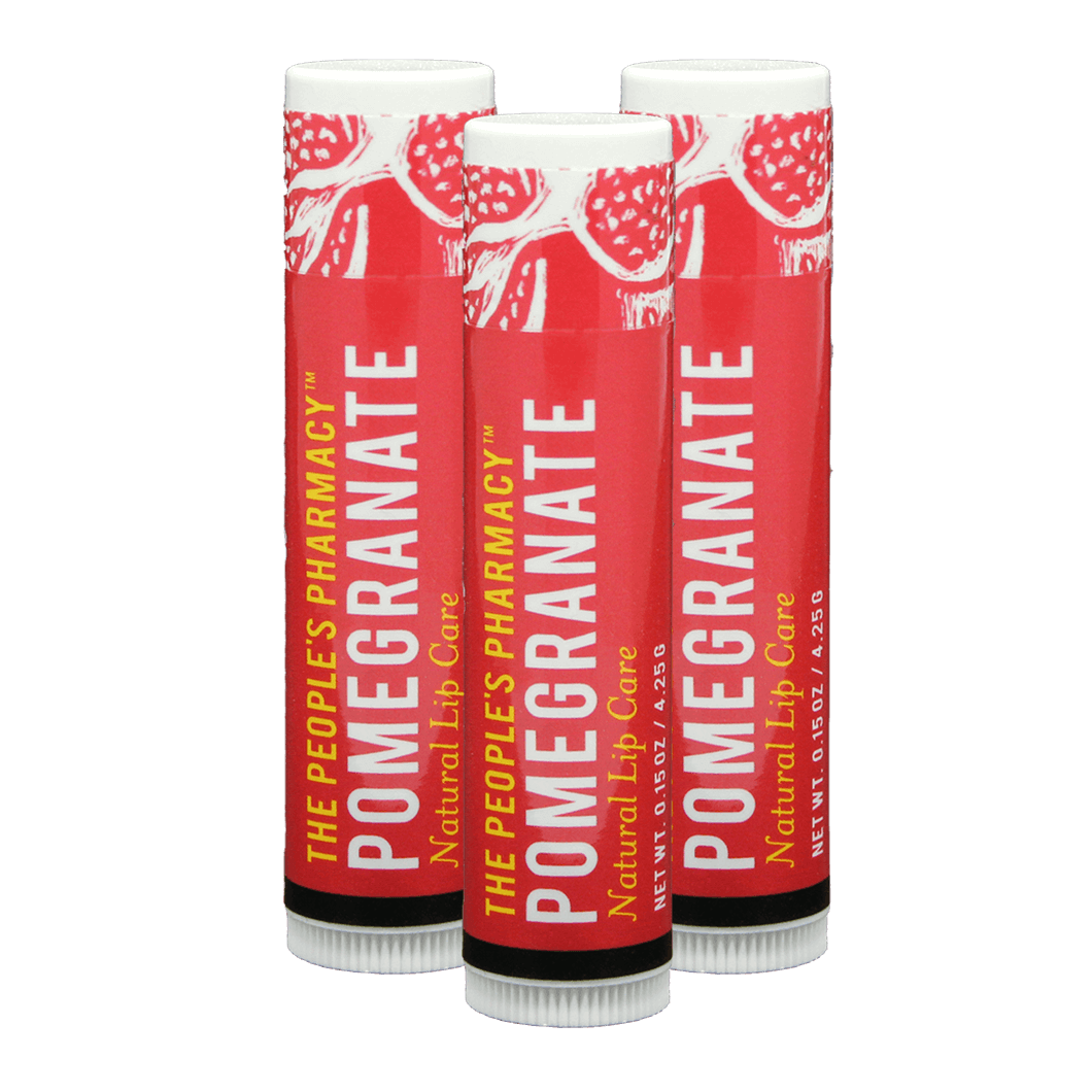 People's Pharmacy Natural Lip Care 3-Pack
