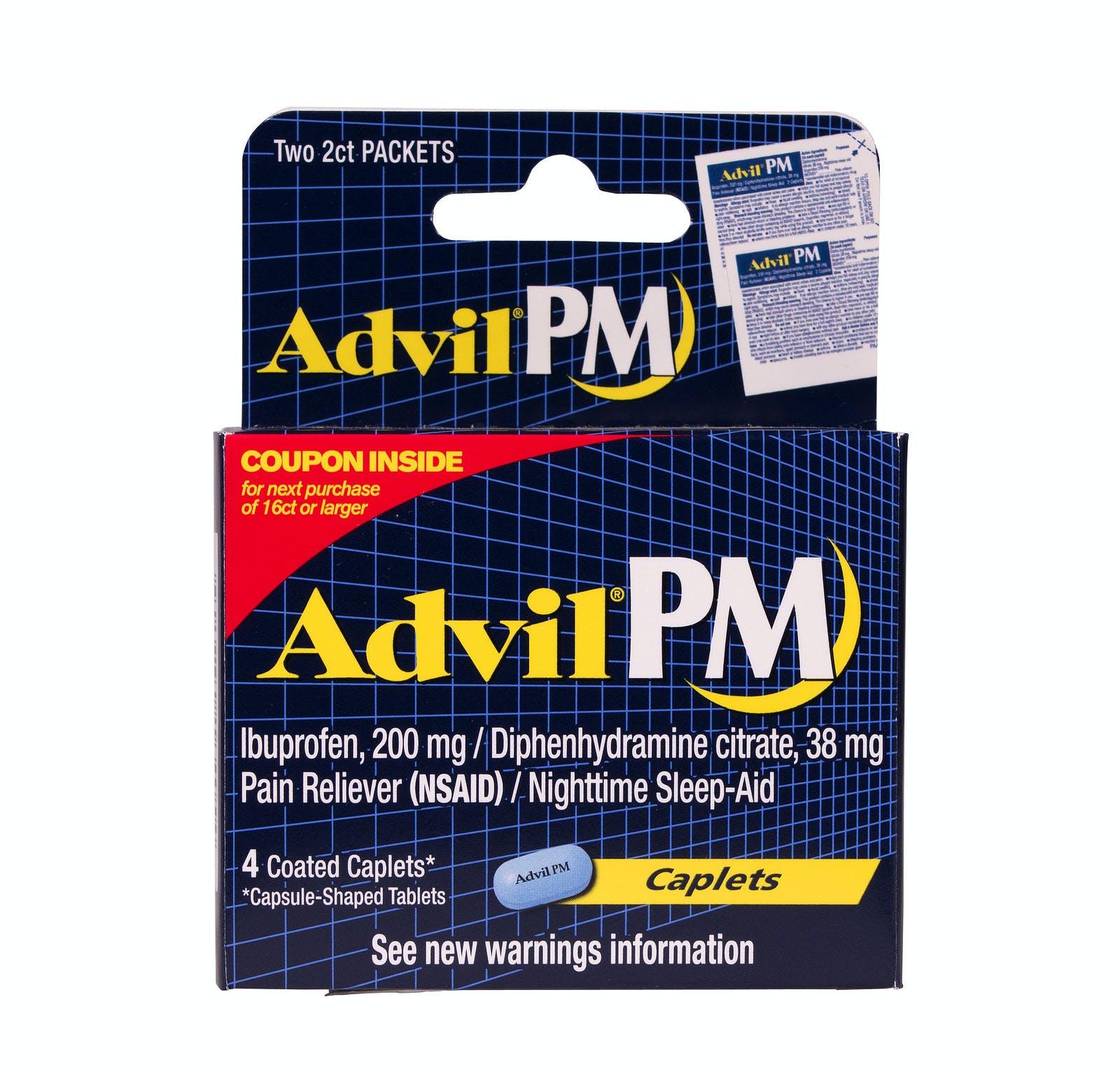 Advil PM sleeping pills