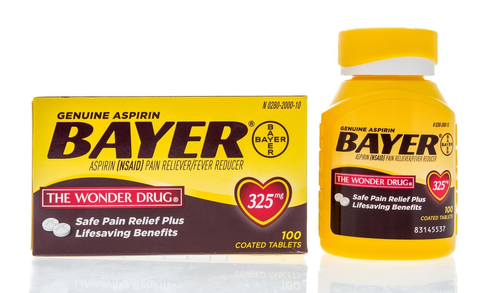 """Bayer aspirin """"The Wonder Drug"""""""