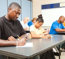 college students in class to improve cognitive performance