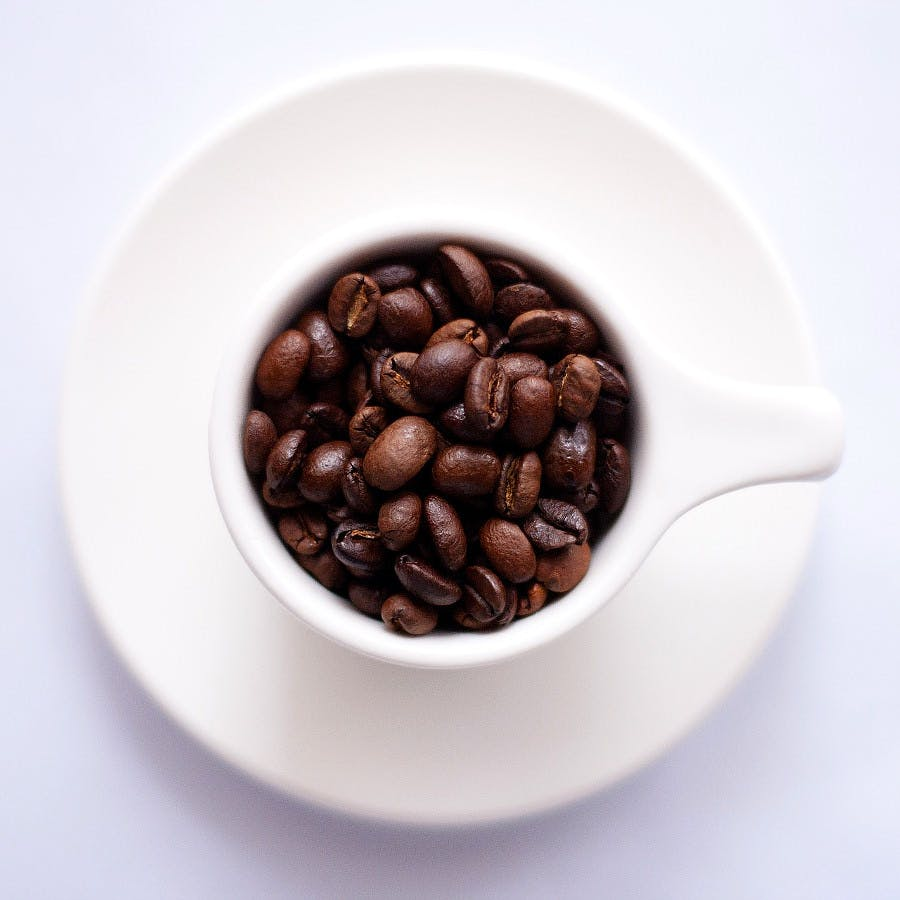 Cc0 from https://pixabay.com/en/coffee-beans-cup-plate-saucer-691761/