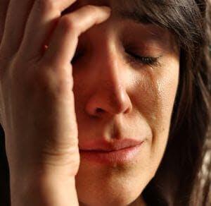 Upset emotion emotional tears depression antidepresant