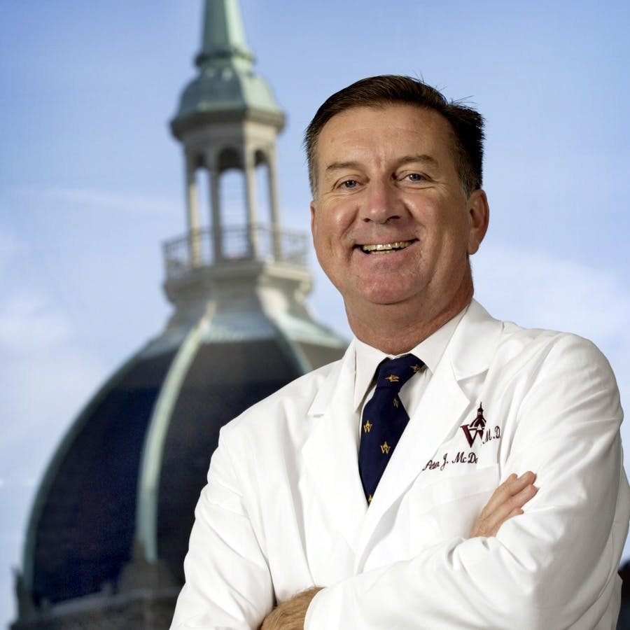 Peter J. McDonnell, MD, Director of the Johns Hopkins Wilmer Eye Institute and professor of ophthalmology at Johns Hopkins School of Medicine
