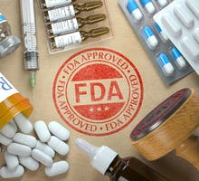 FDA-approved pills, ampules and injections