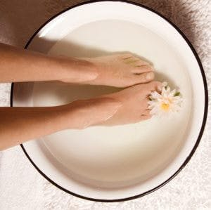 wart foot bath)