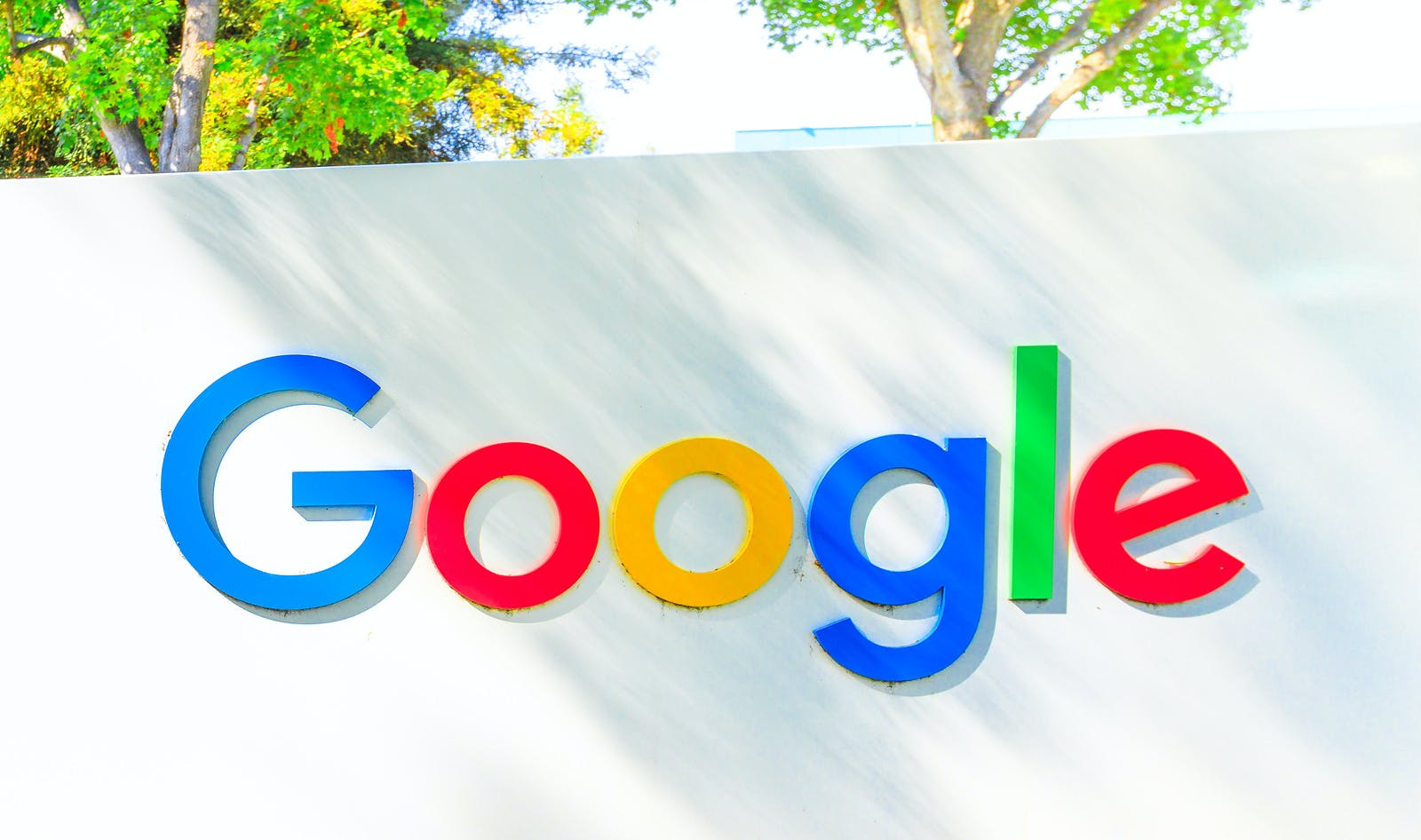Mountain View, California, USA – August 13, 2018: Google logo isolated from a Google headquarters sign. Google technology leader in internet services, online advertising, search engine, cloud storage.