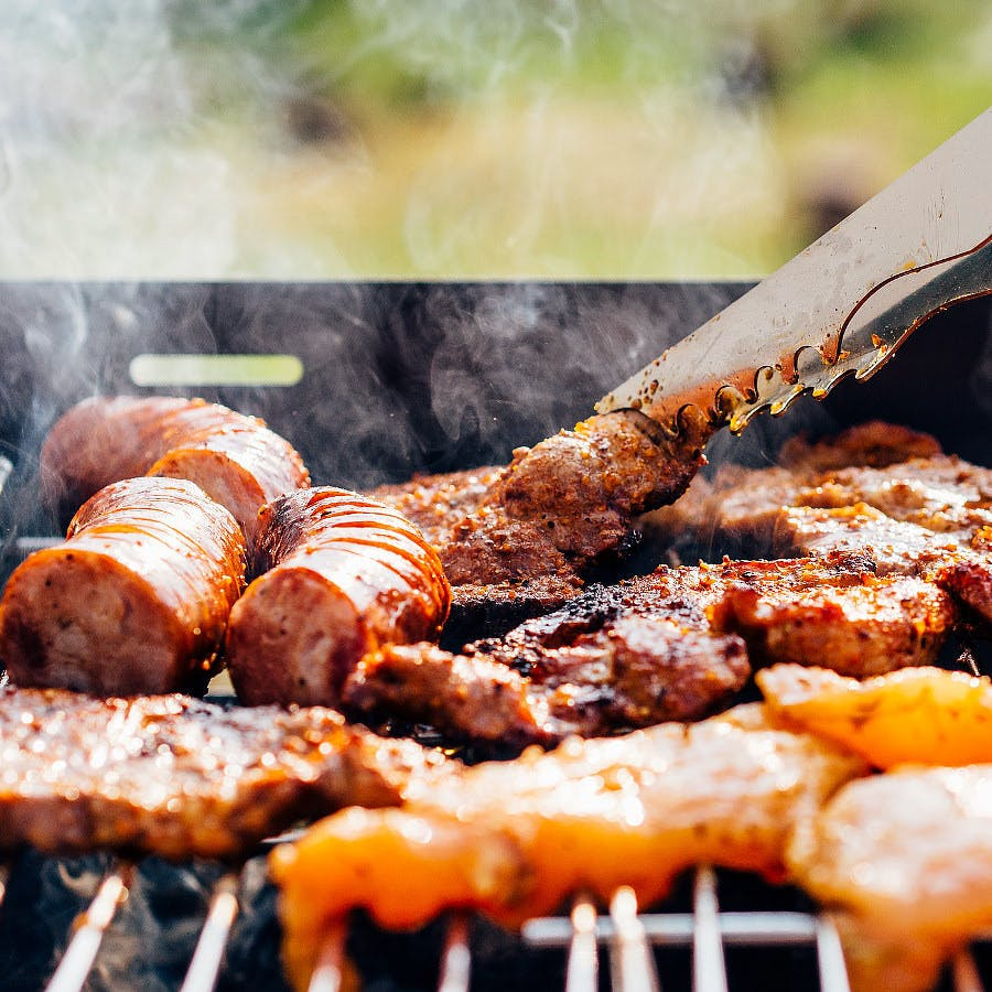 Cc0 from https://pixabay.com/en/barbecue-meat-grill-sausage-food-820010/