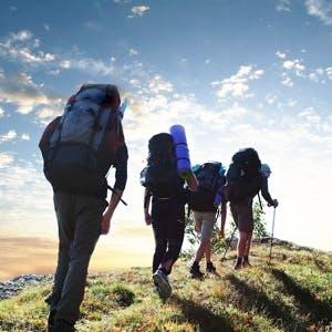 Hiking, blisters, cuts, burns, camping,