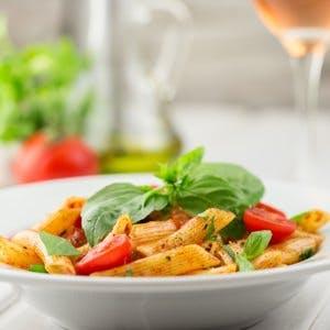 Italian pasta, Mediterranean diet