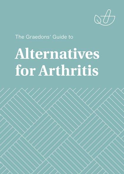 book cover: alternatives for arthritis