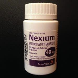 a bottle of Nexium 40mg