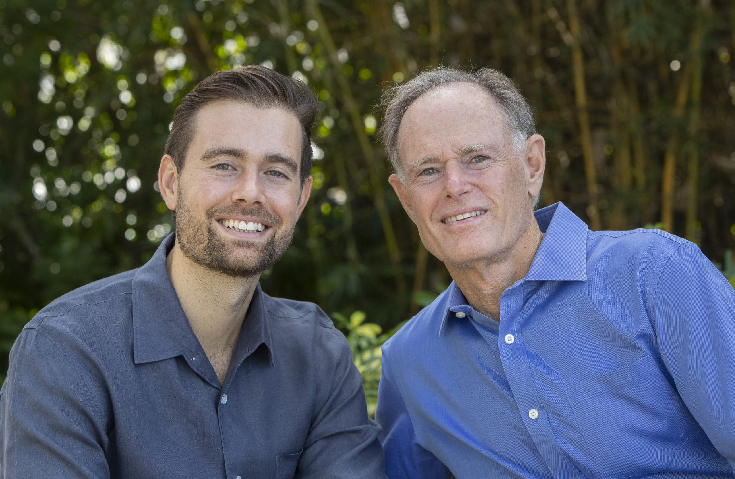 Drs. Austin (left) and David (right) Perlmutter, authors of Brain Wash