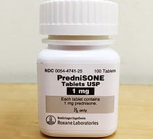 a bottle of PredniSONE 1mg, short-term steroid use, prednisone side effects