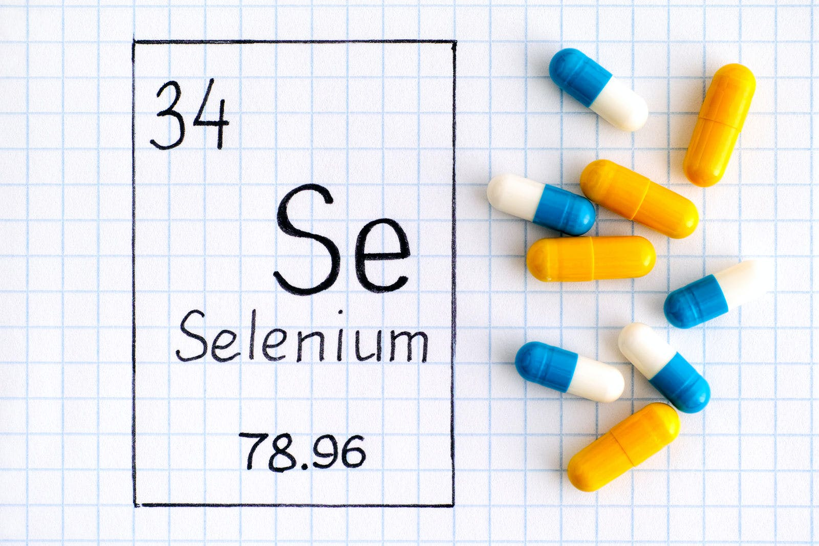 selenium supplements and chemical name