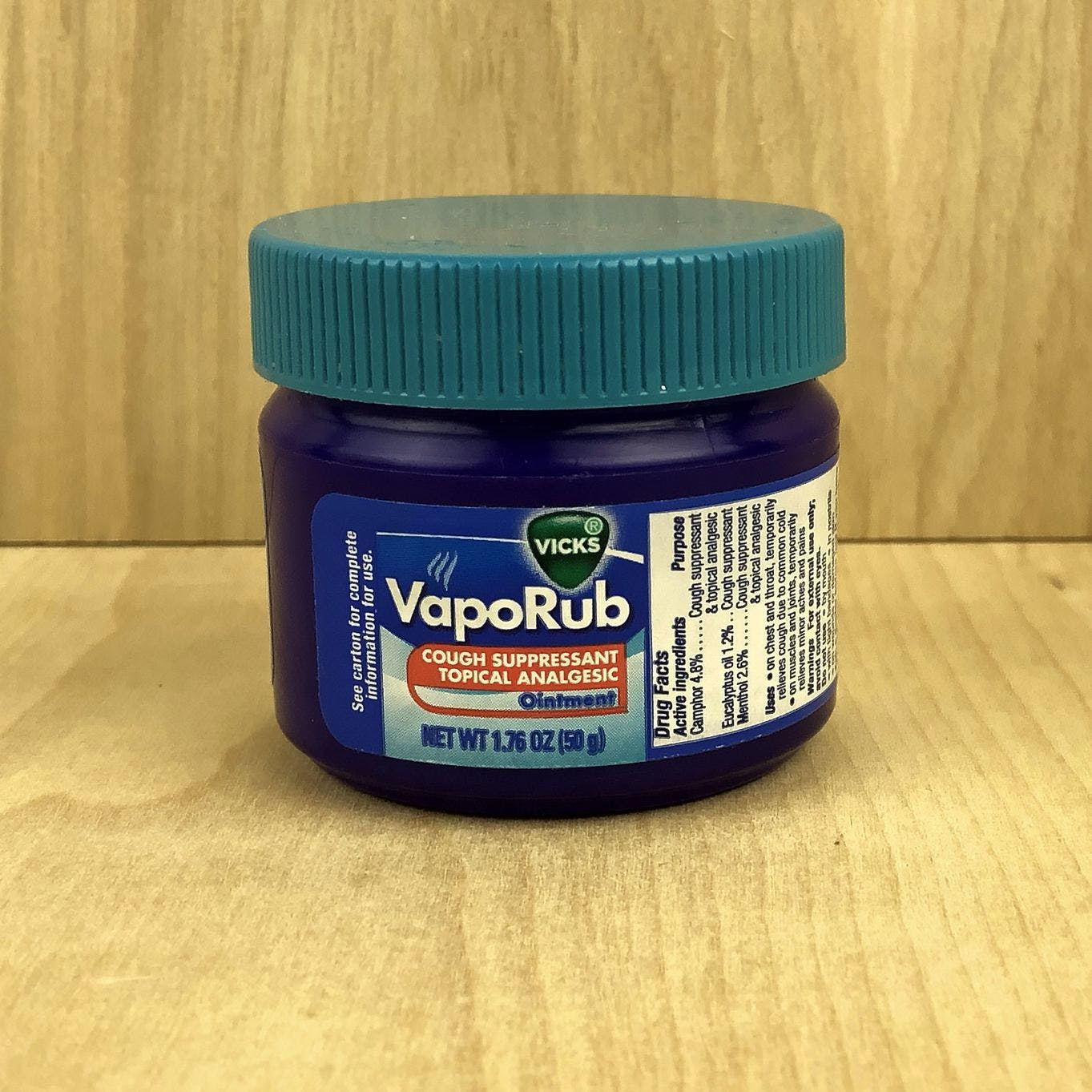 Jar of Vicks VapoRub