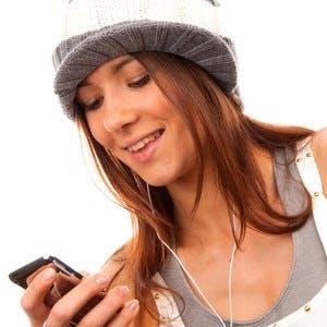 Phone app, exercise, playlist,