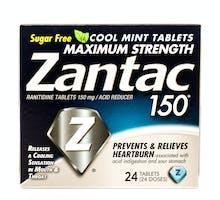 Zantac package