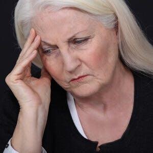 Alzheimer's, dementia, white hair