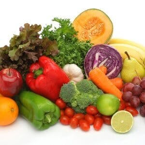 Veggies healthy vegetable pepper salad