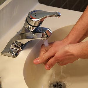 CC0 from https://pixabay.com/en/sink-washing-hands-water-hygiene-400276/