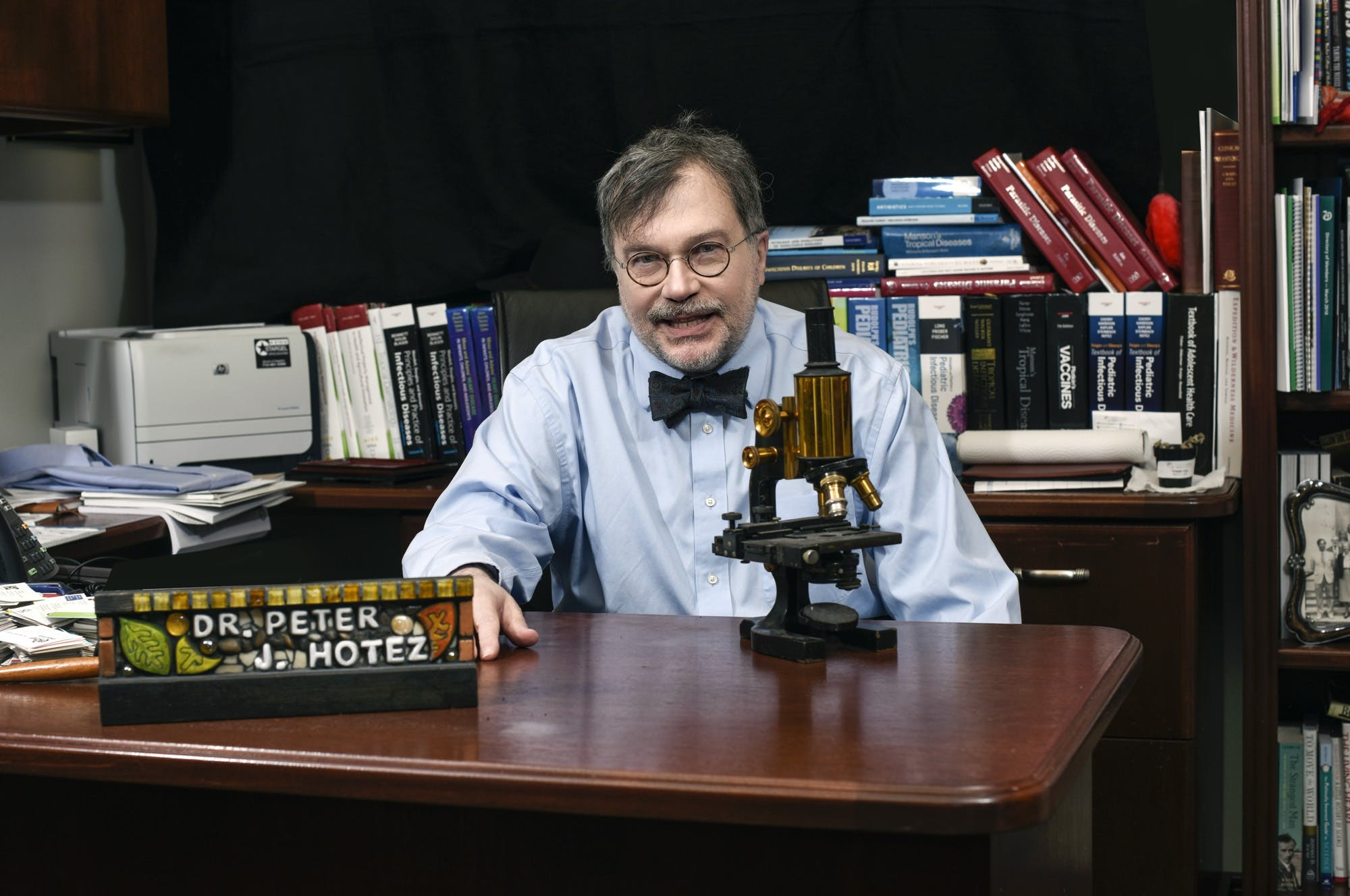 Dr. Peter Hotez explains vaccine diplomacy